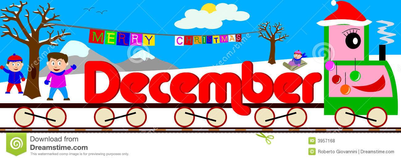December Stock Illustrations.