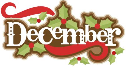 December clipart december newsletter, December december.