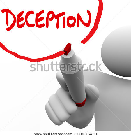 Deception 20clipart.