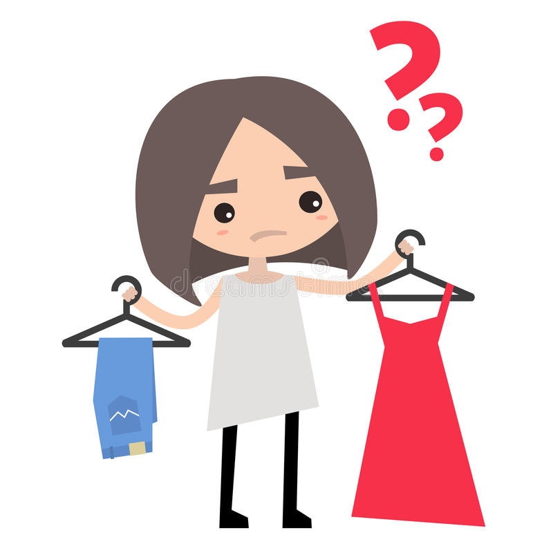 52 Tip Of The Day Deciding What To Wear Clipart 2019.