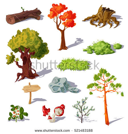 Deciduous Stock Images, Royalty.