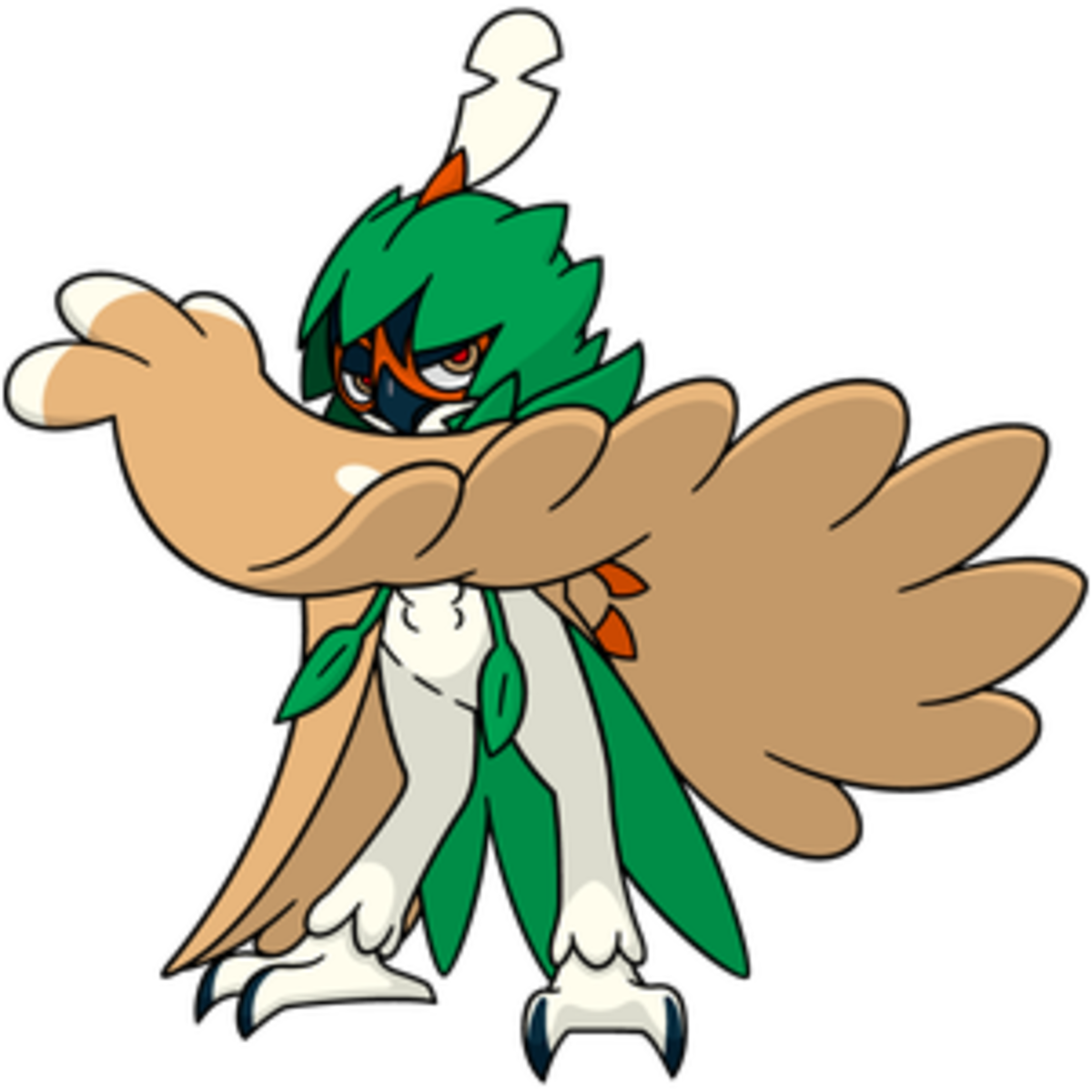HD Decidueye Png Transparent PNG Image Download.
