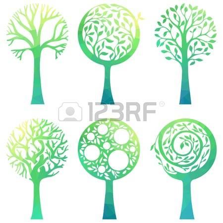 6,554 Deciduous Tree Stock Illustrations, Cliparts And Royalty.