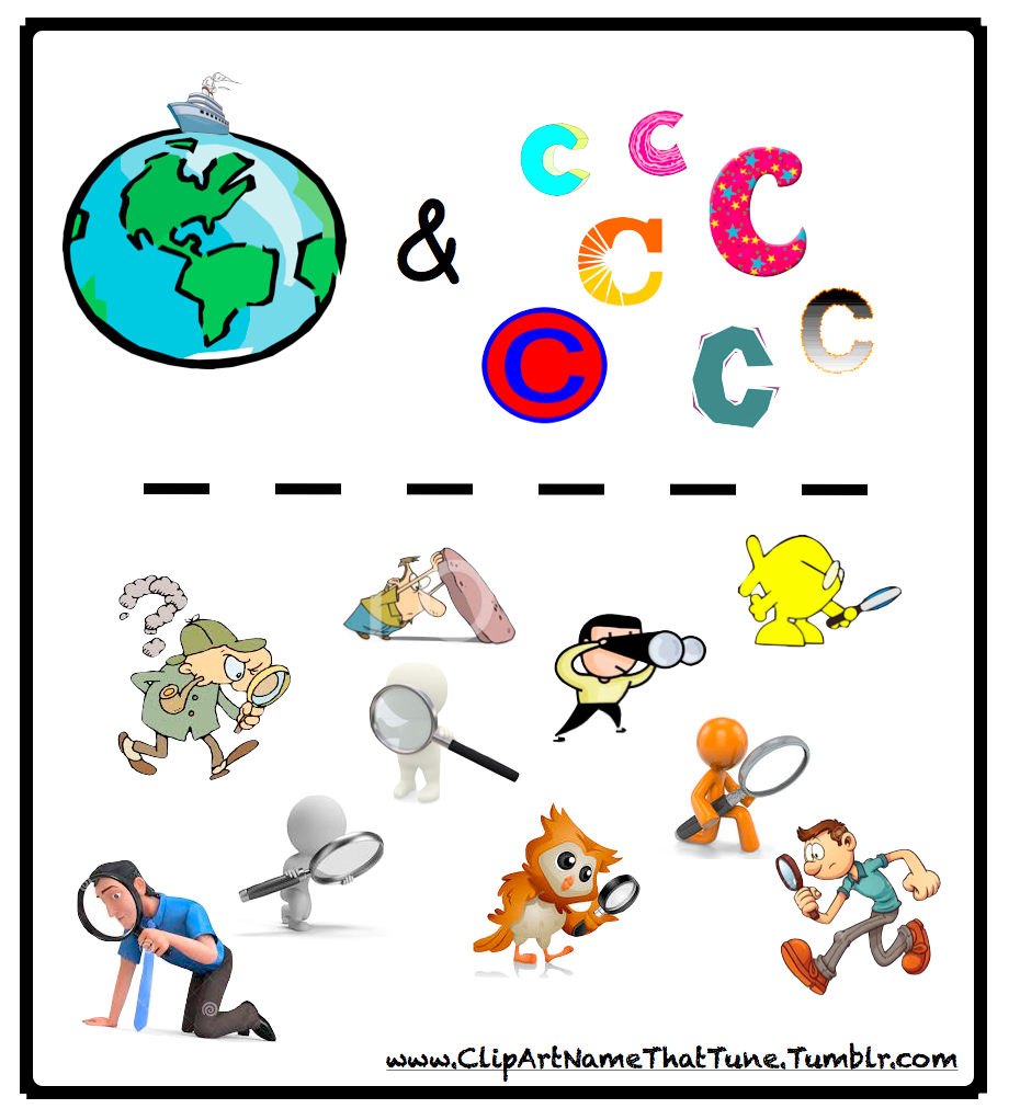 Clip Art Name That Tune Puzzle #7.
