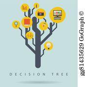 Decision Tree Clip Art.