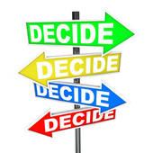 Decisions Clipart.