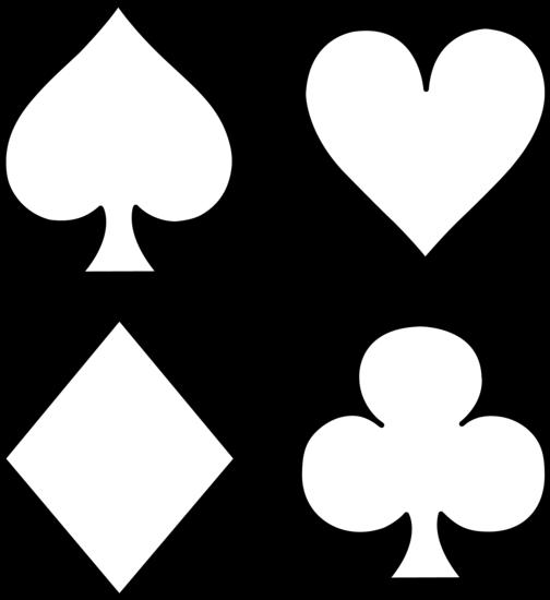Deck Of Cards Symbols.