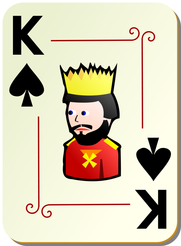 Free to Use & Public Domain Playing Cards Clip Art.