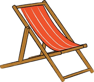 Clipart deck chair.