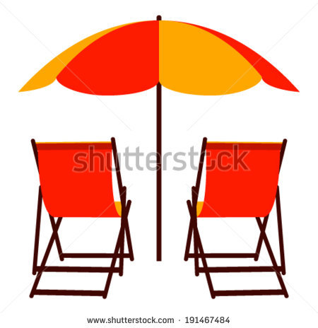 Deckchair Beach Stock Photos, Royalty.