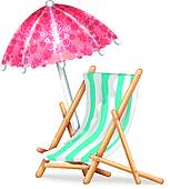 Deck chair Clip Art and Illustration. 1,975 deck chair clipart.