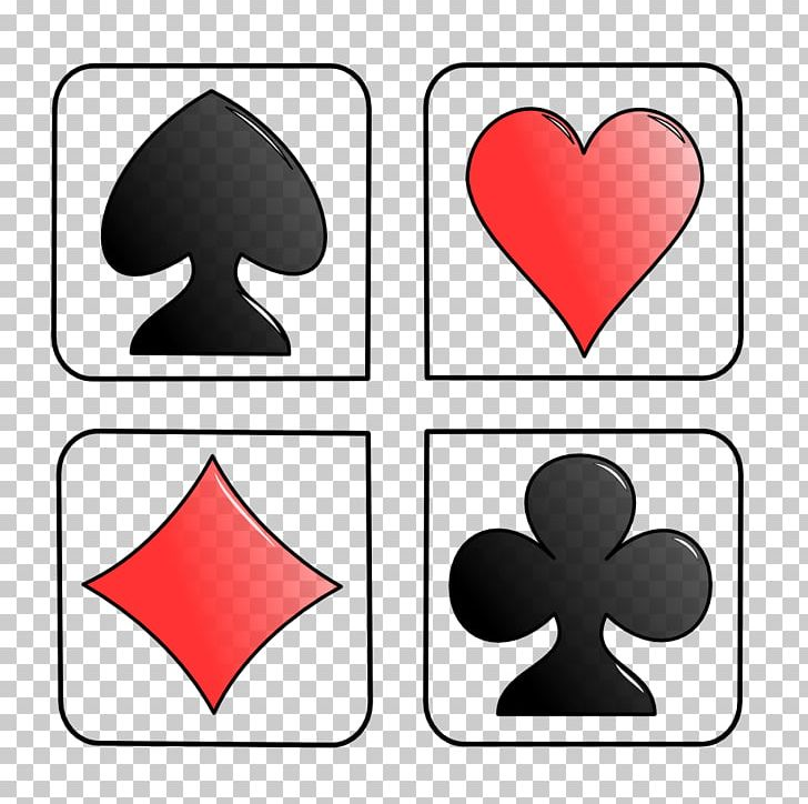 Playing Card Suit Standard 52.