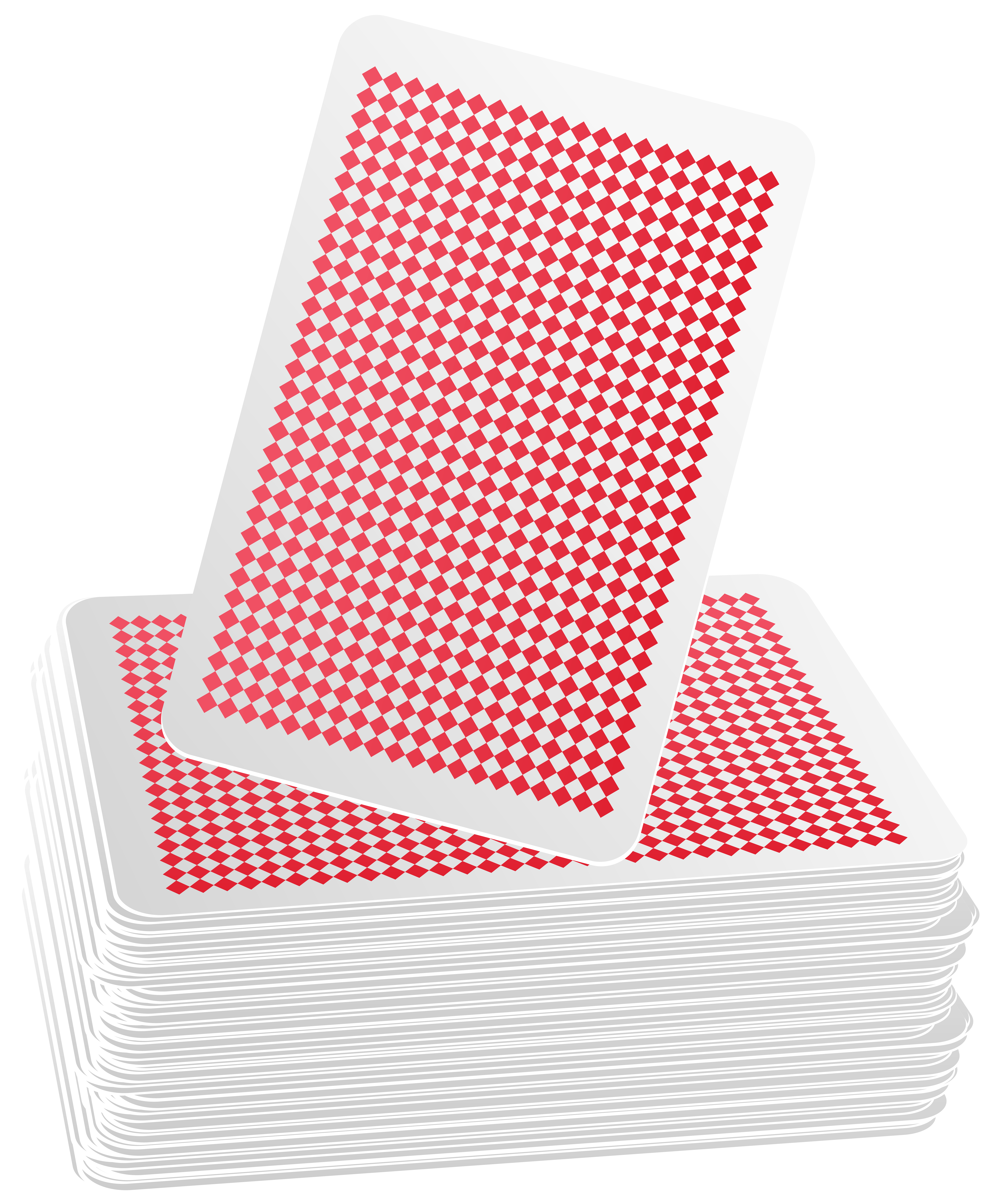 Deck of Cards PNG Clip Art Image.