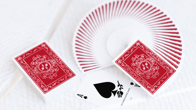 Red Roses Playing Cards by Daniel Schneider — Kickstarter.