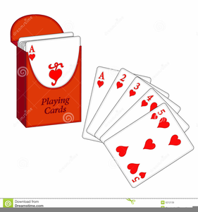 Deck Playing Cards Clipart.