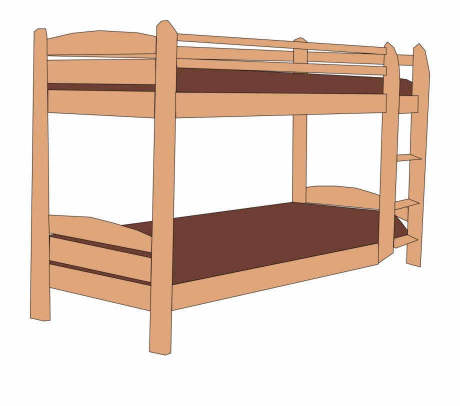 Cartoon Bunk Bed.