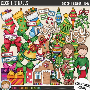Christmas Clip Art 3: