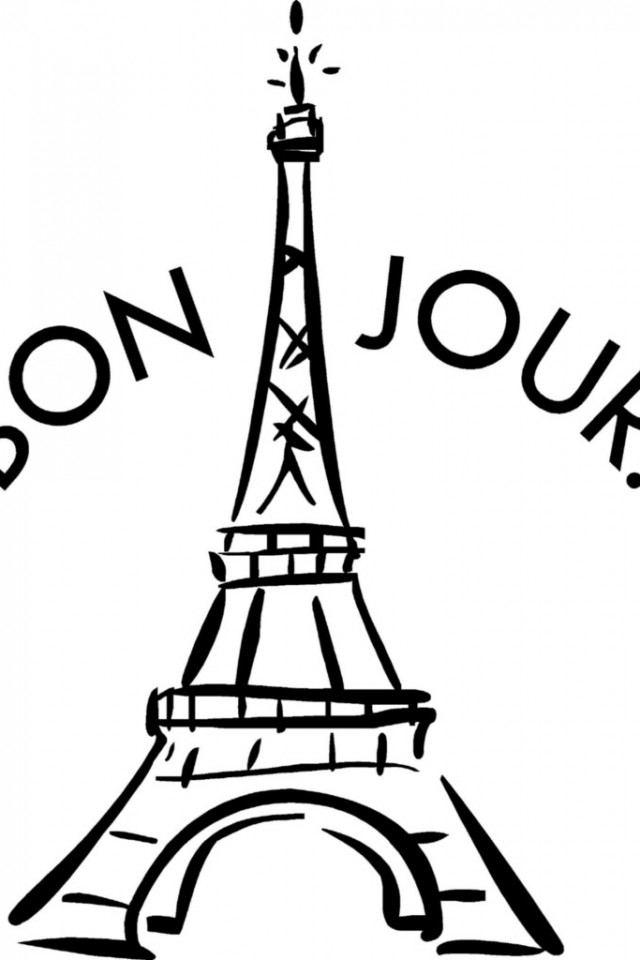 Disclaimer Earnings Eiffel Tower Coloring Pages 718 X 957 10.