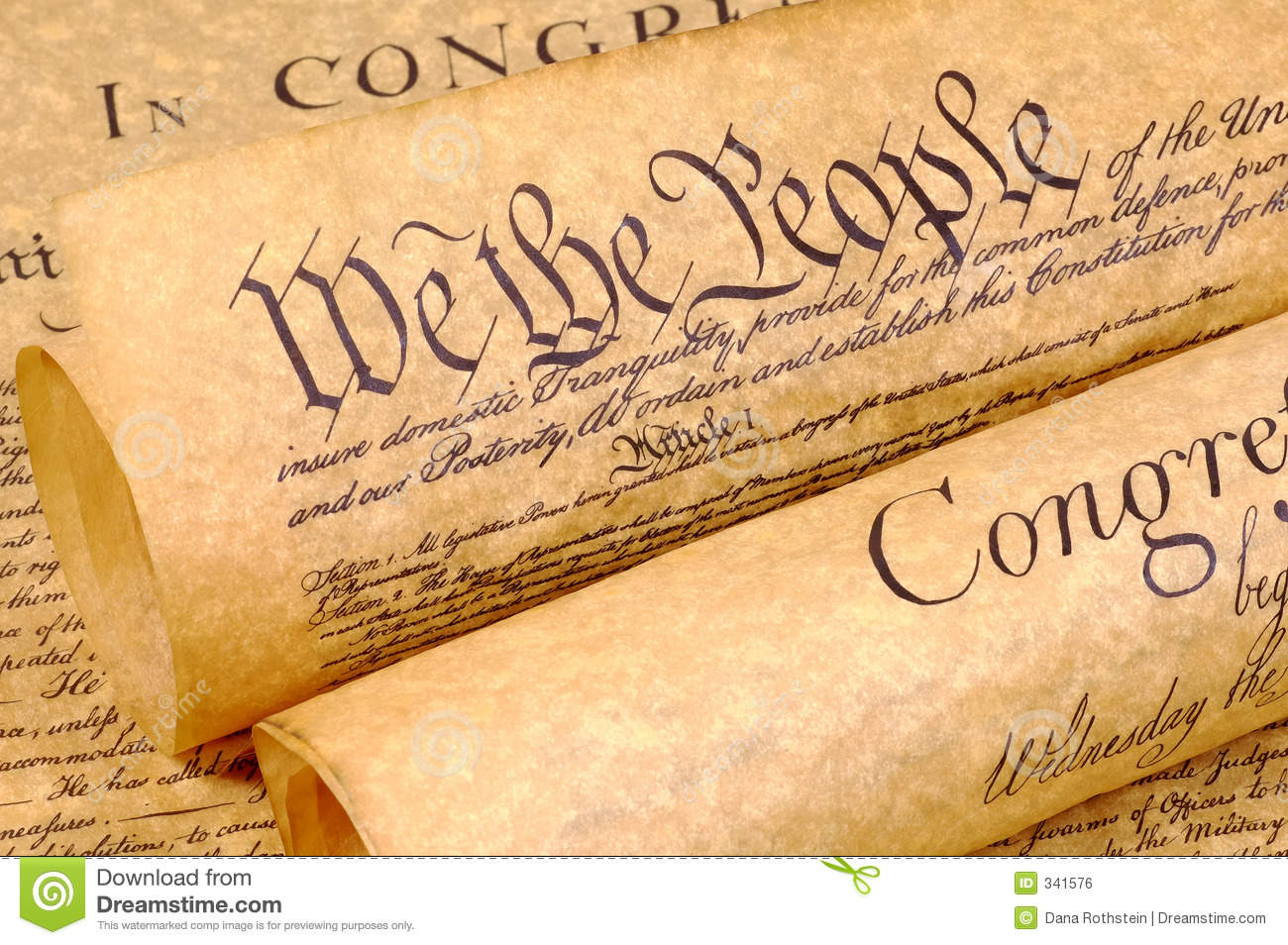 Declaration of independence clipart free.