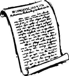 Declaration Clipart.