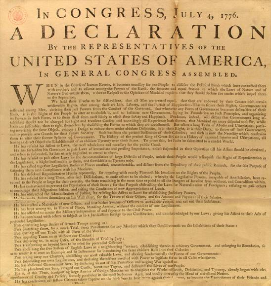 Declaration of independence clipart #12