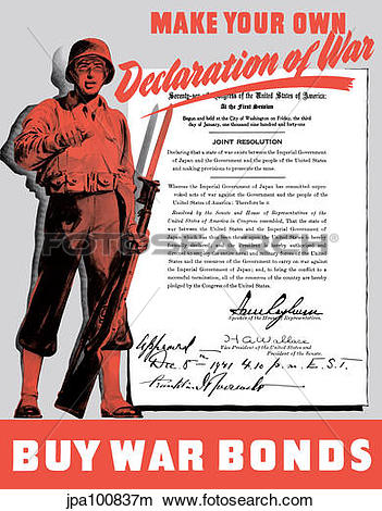 Drawings of World War II poster of a soldier holding his rifle and.