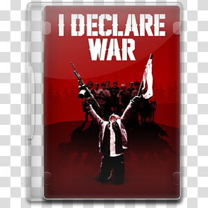 Movie Icon , I Declare War transparent background PNG.