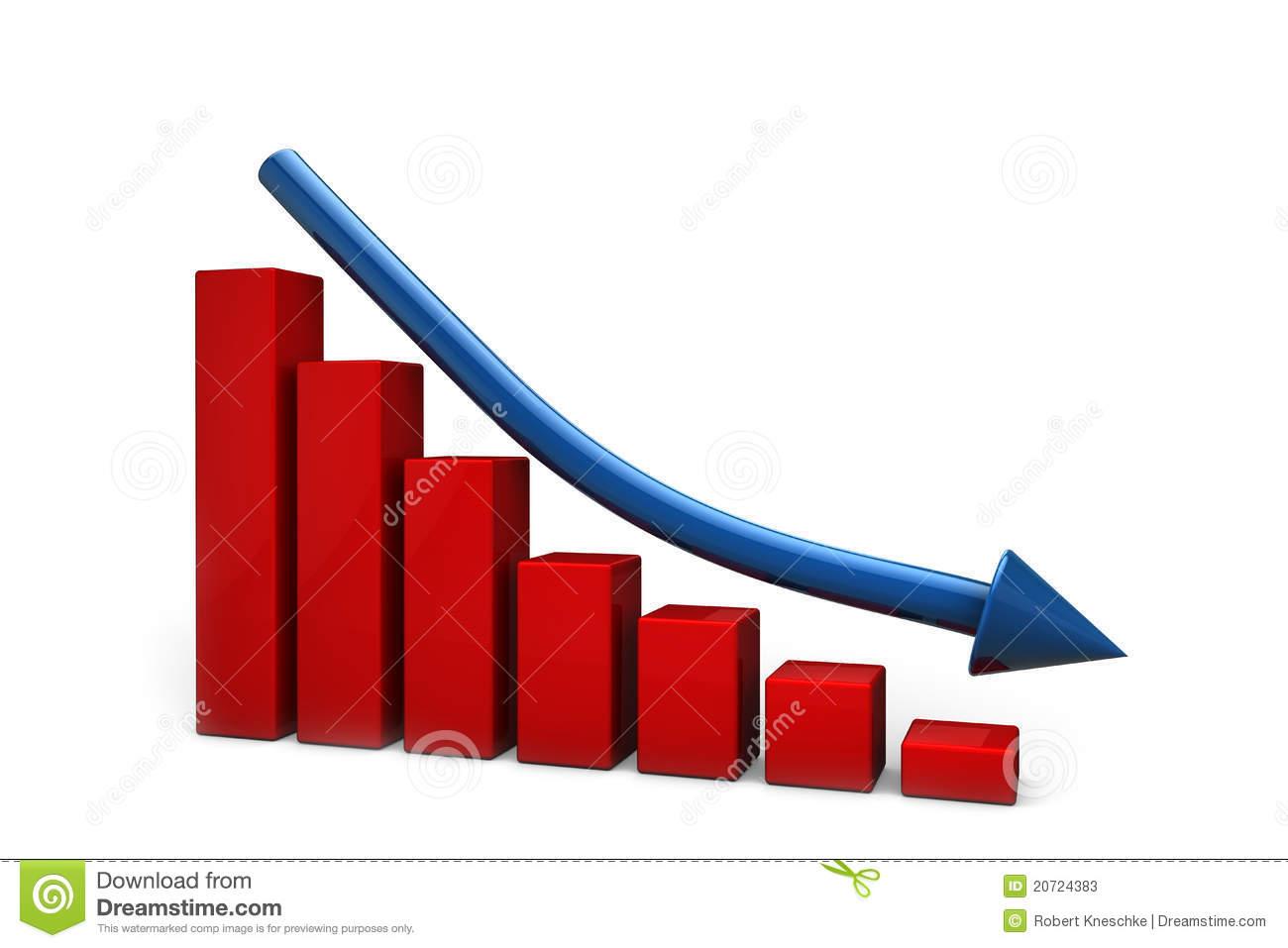 Declining Stock Illustrations.