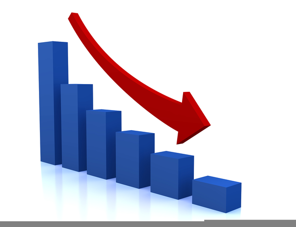 Chart clipart downward, Chart downward Transparent FREE for.