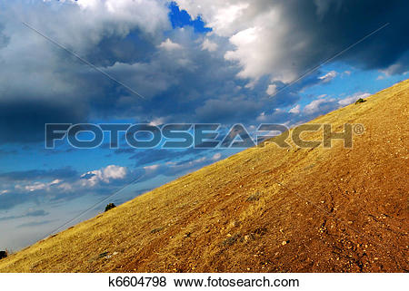 Pictures of Mountain declivity k6604798.