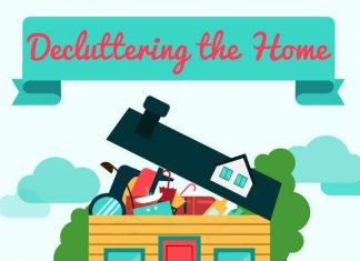 28 Awesome Tips on How To Declutter your Home (Infographic).
