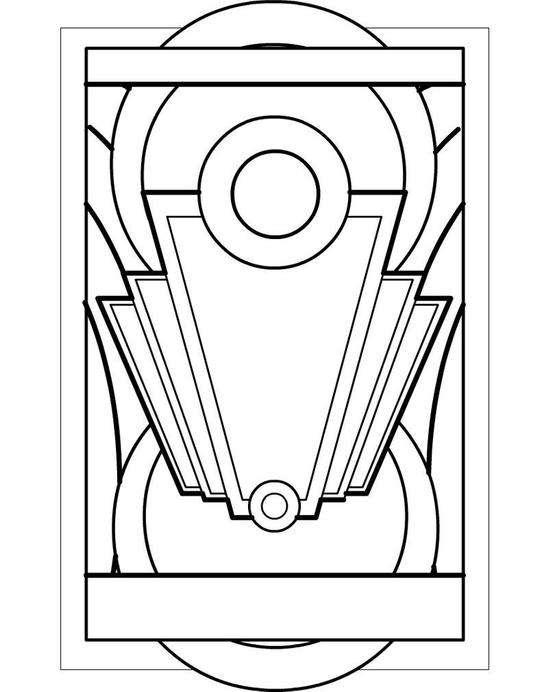 Art Deco Clipart.