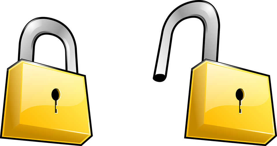 Free vector graphic: Lock, Security, Key, Unlock.