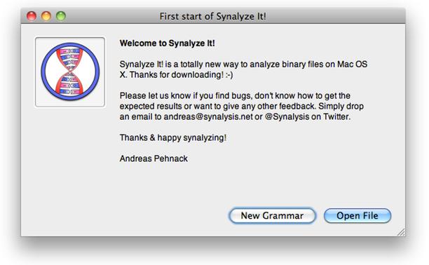Synalyze It! Tutorial.