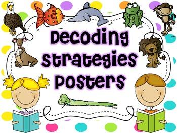 Decoding Strategies Worksheets & Teaching Resources.