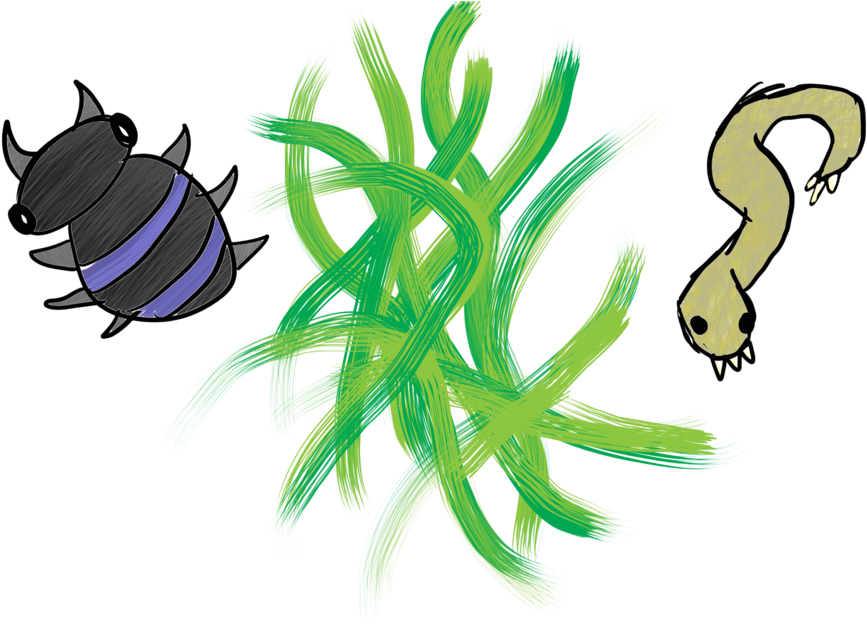 Decomposer Drawing Plant Clipart.
