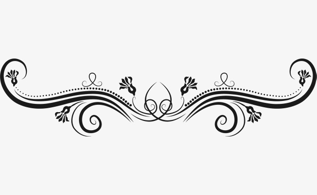Black Pattern Decoration, Black, Decals, Sticker Pattern PNG and.