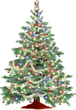 Christmas Tree Clipart #10005.