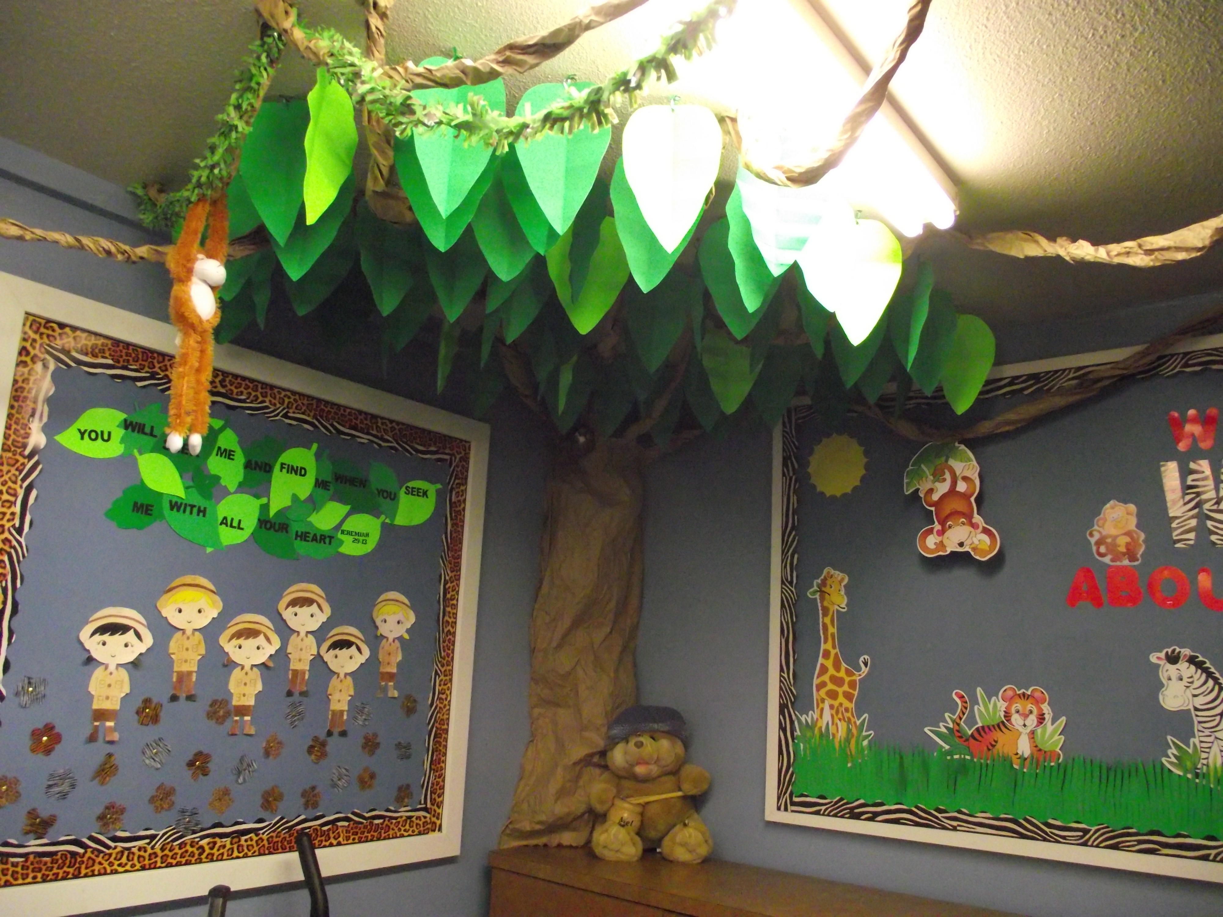 Jungle Decoration Ideas - Elitflat on