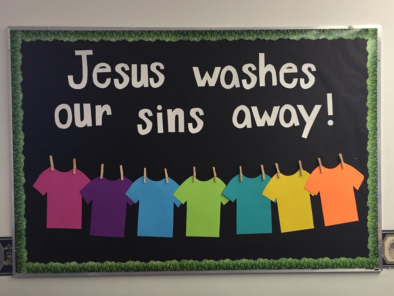 Sunday School Classroom Design Ideas ~ Decorate sunday school door clipart clipground