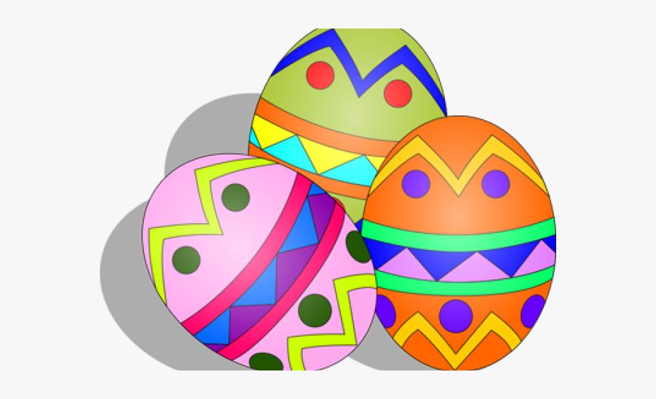 Easter Eggs Clipart Cartoon.