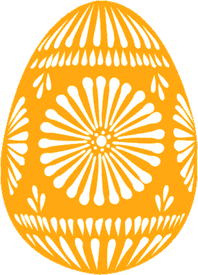 Free Decorated Easter Egg Clipart.