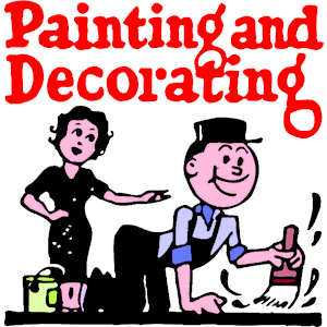 Painting and decorating clipart free.