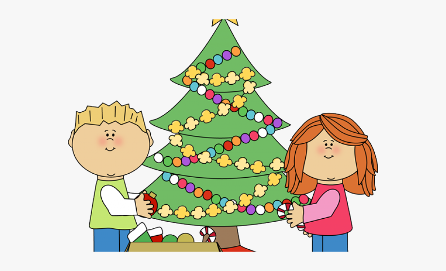 Decorations Clipart Christmas Tree.