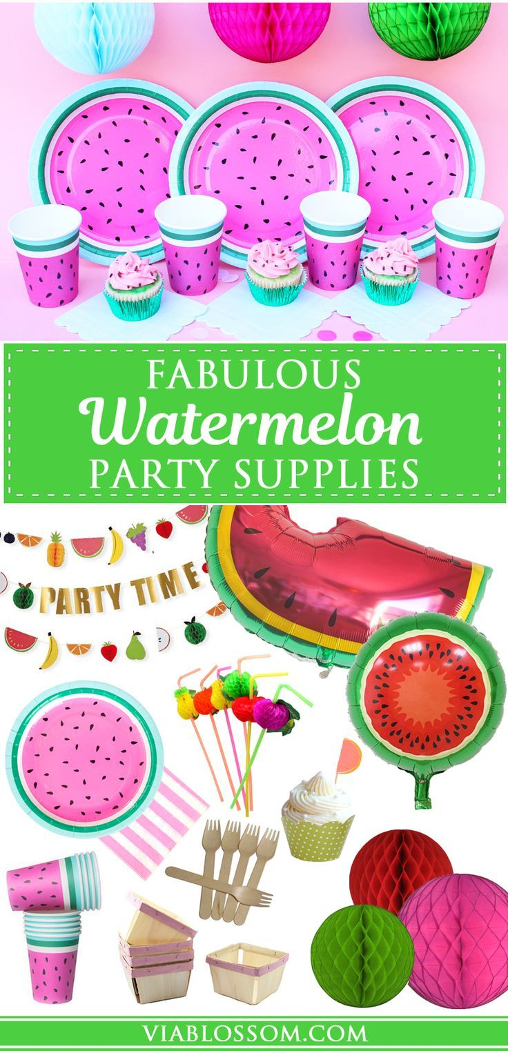 1000+ ideas about Watermelon Party Decorations on Pinterest.