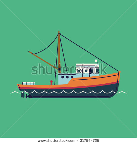 Fishing Boat Stock Photos, Royalty.