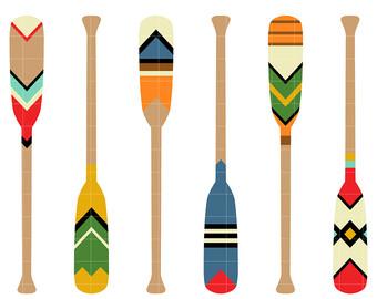 Decorative paddle.