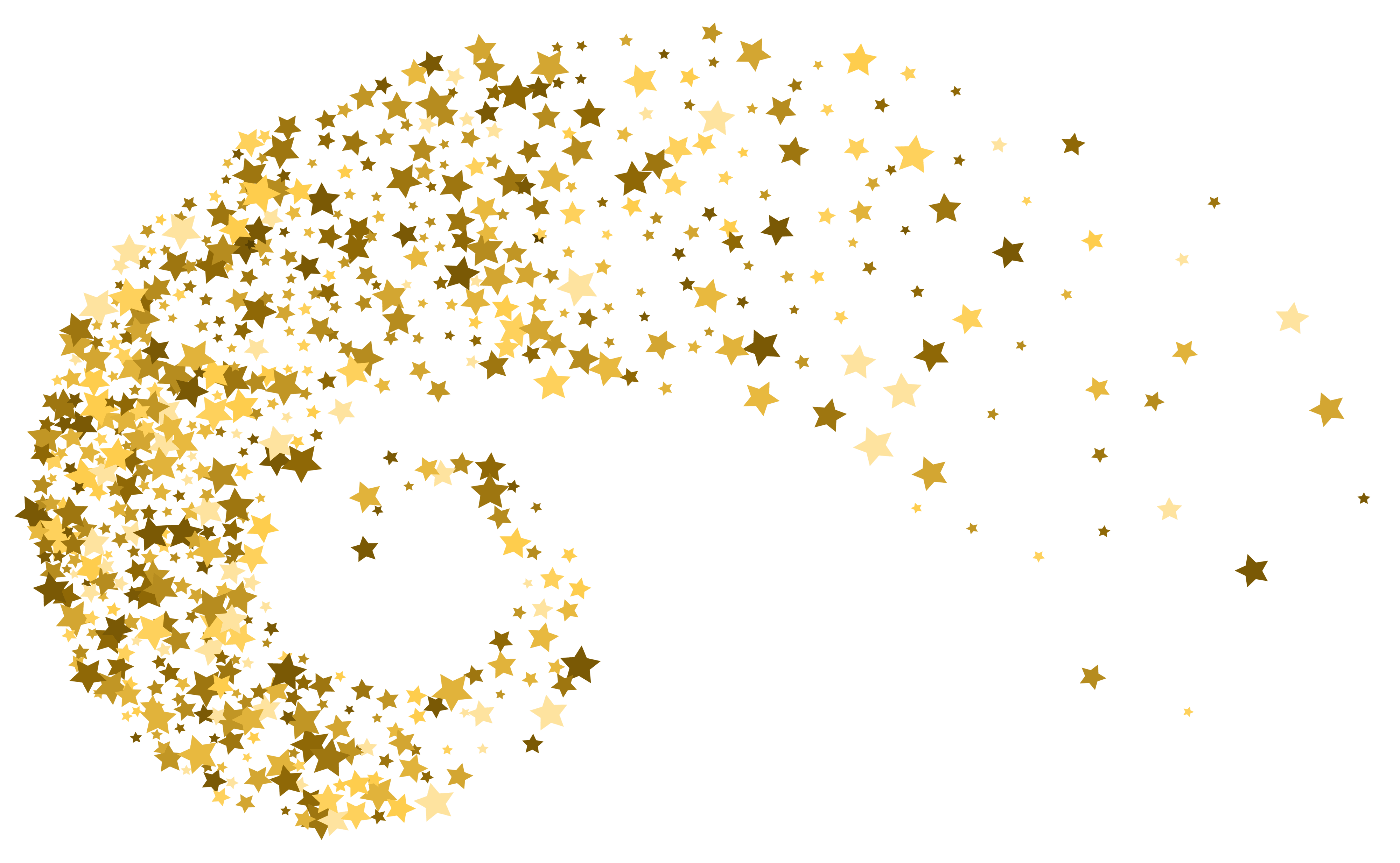 Stars Decoration PNG Clip Art.