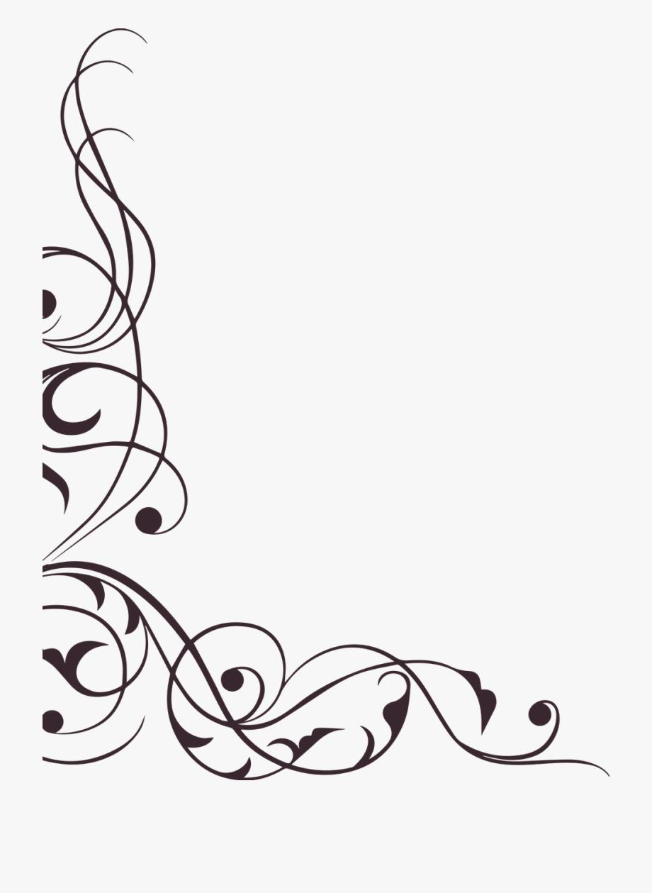 Swirl Ornament Decoration Element.