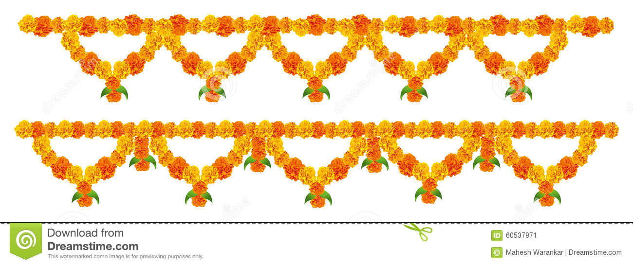 Flower Decorations Clipart.
